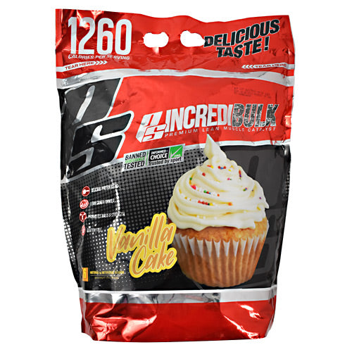 Pro Supps IncrediBulk Vanilla Cake - Gluten Free