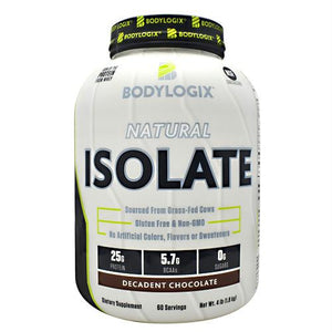 Bodylogix Natural Isolate Protein Decadent Chocolate - Gluten Free