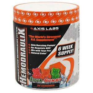 Axis Labs Marquis Series Hemodraulix Sour Gummy - Supplements