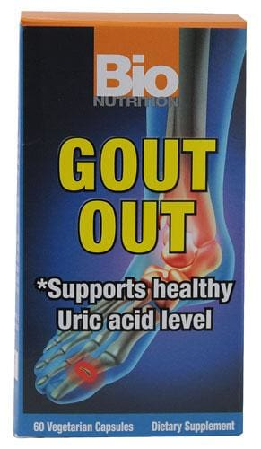 Bionutrition Bnrg Gout Out - 60 Veggie Capsules