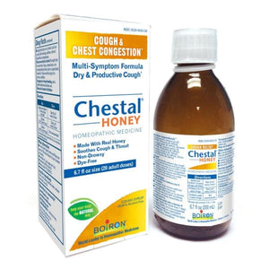 Boiron Chestal® Cough & Chest Congestion Honey - 6.7 Fl. Oz. - Homeopathic