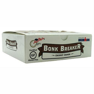 Bonk Breaker Energy Bar Coconut Cashew - Gluten Free - Bars