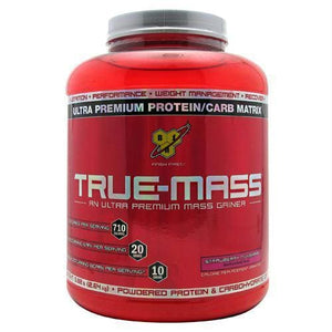 Bsn True-Mass Strawberry Milkshake - Supplements
