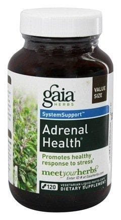 Gaia Herbs Phyto-Caps Liquid-Filled Capsules - Support Adrenal Health Extract Supplement