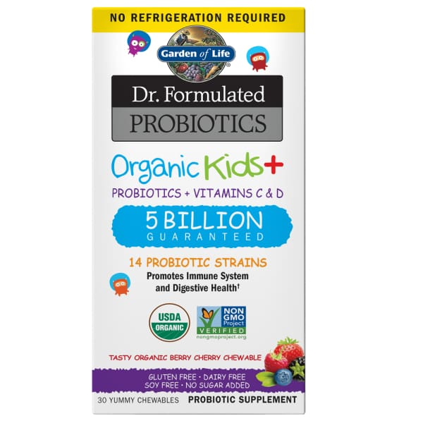 Garden Of Life Dr. Formulated Probiotics Organic Kids Daily Care