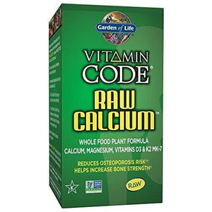 Garden Of Life Raw Vitamin Code Calcium-Vitamin D Combination - 60 Capsules