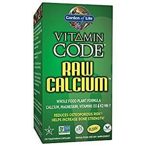 Garden Of Life Vitamin Code Raw Calcium 120 Capsules