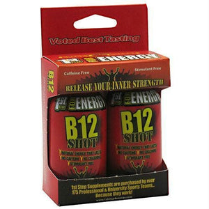 High Performance Fitness B12 Shot Cherry Charge - Liquid Shot
