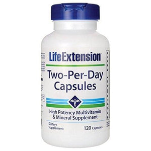 Life Extension Two Per Day Capsules 120 Count