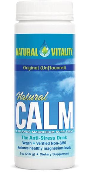 Natural Vitality Natural Calm Original Unflavored - 8 Oz.