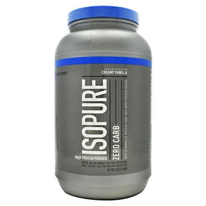 Natures Best Zero Carb Isopure Creamy Vanilla - Supplements