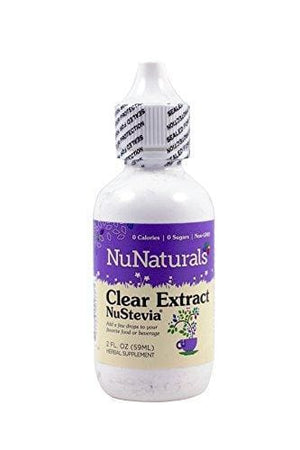 Nunaturals Pure Liquid 2 Oz. Stevia All-Natural Sweetener