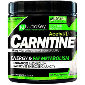 Nutrakey Acetyl-L-Carnitine - Supplements