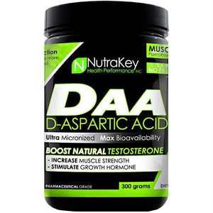 Nutrakey D-Aspartic Acid Unflavored - Supplements