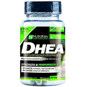 Nutrakey Dhea 100 Capsules - Supplements