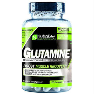 Nutrakey L-Glutamine - Supplements