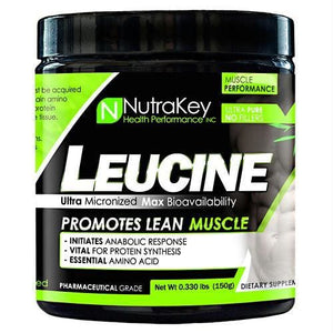 Nutrakey L-Leucine Unflavored - Supplements