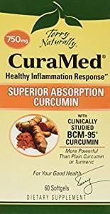 Terry Naturally Terry Curamed 750 Mg - 60 Softgels