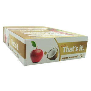 Thats It Nutrition Thats It Bar Apple + Coconut - Gluten Free - Bars