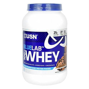 Usn Blue Lab 100% Whey Peanut Butter & Choc Chip Cookie - Supplements
