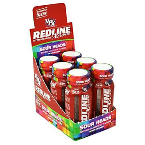 Vpx Redline Xtreme Shot Sour Heads - Liquid Shot