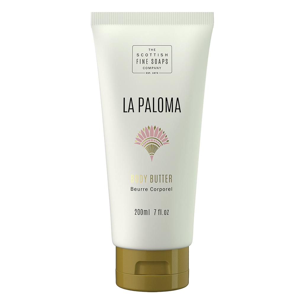 La Paloma Body Butter | Scottish Fine Soaps