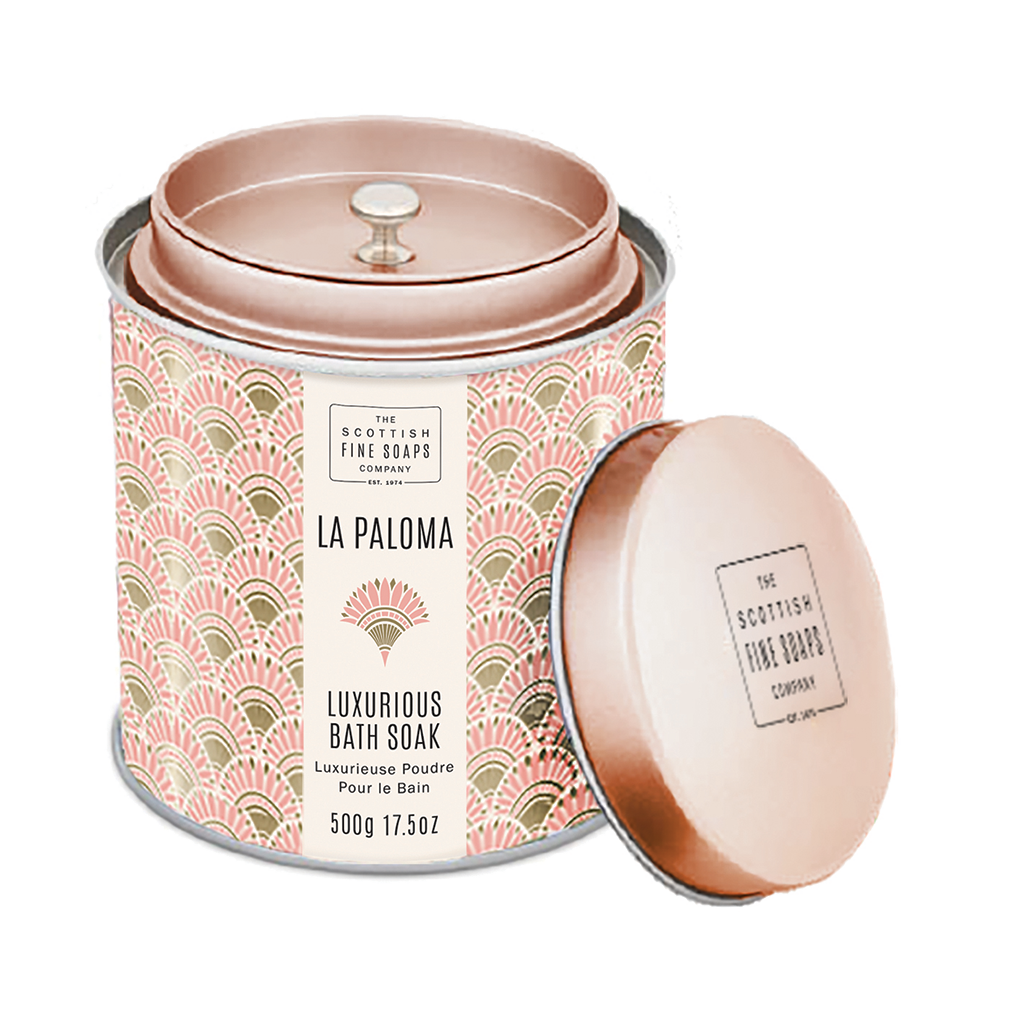 Luxurious Bath Soak Tin
