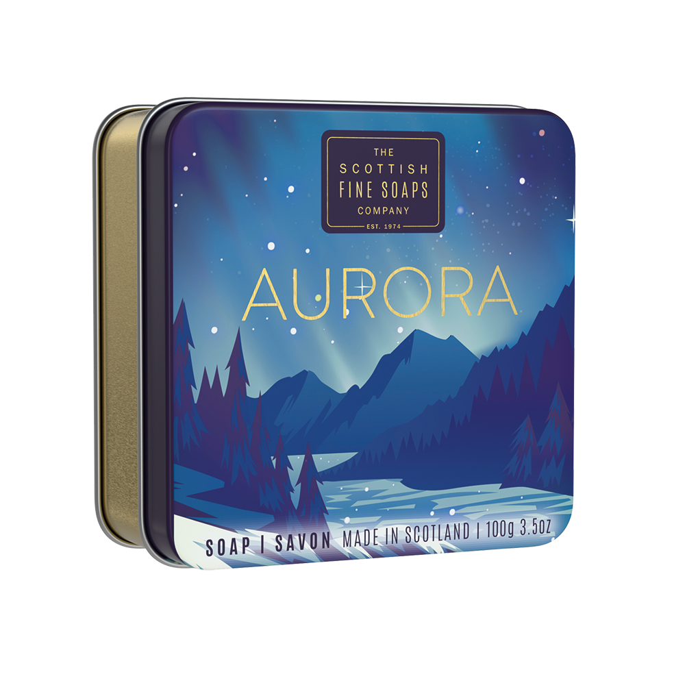 Aurora Soap In A Tin