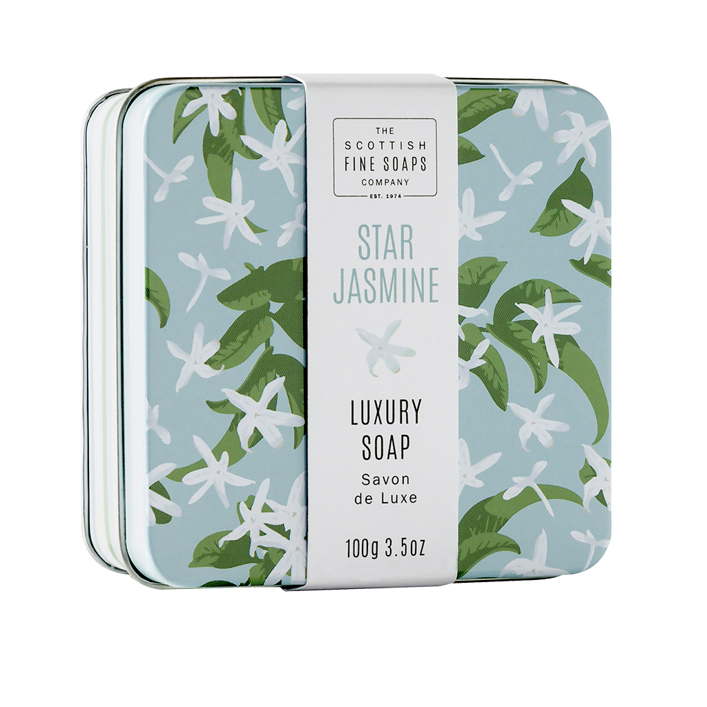 Star Jasmine Soap in a Tin