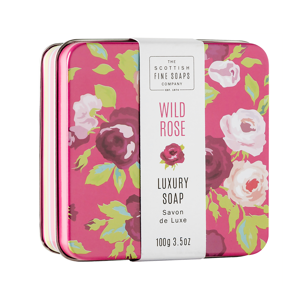 Wild Rose - Soap In A Tin