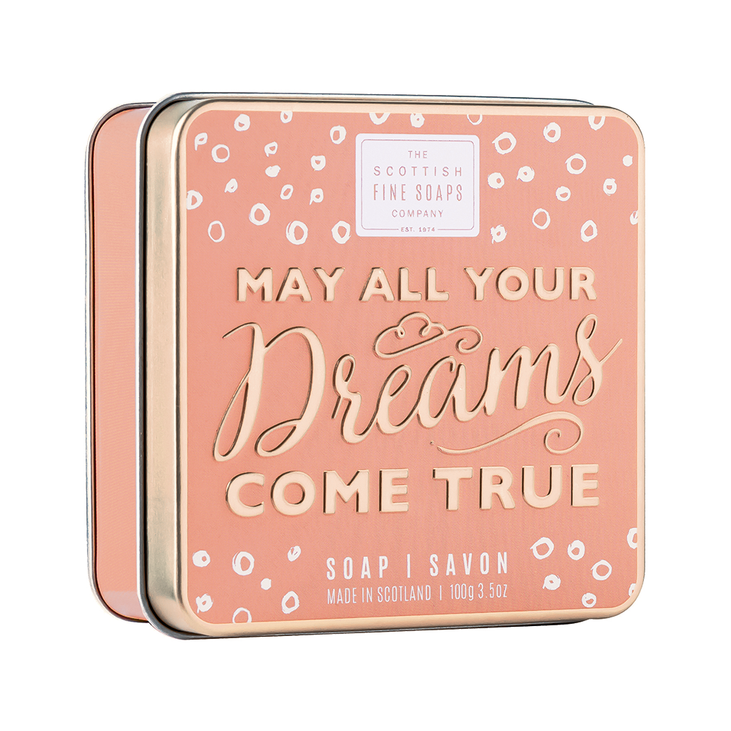 May All Your Dreams Come True - Soap In A Tin