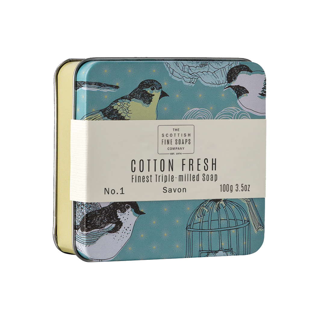 Cotton Fresh - Soap In A Tin