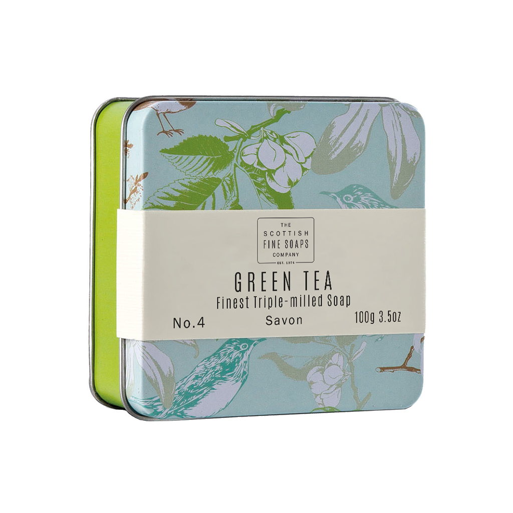 Green Tea - Soap In  A Tin