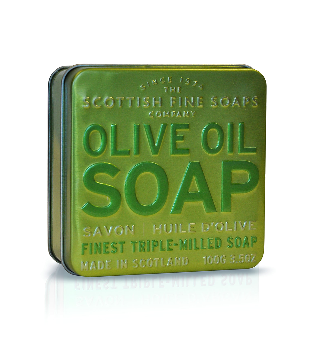 Olive Oil - Soap in a Tin