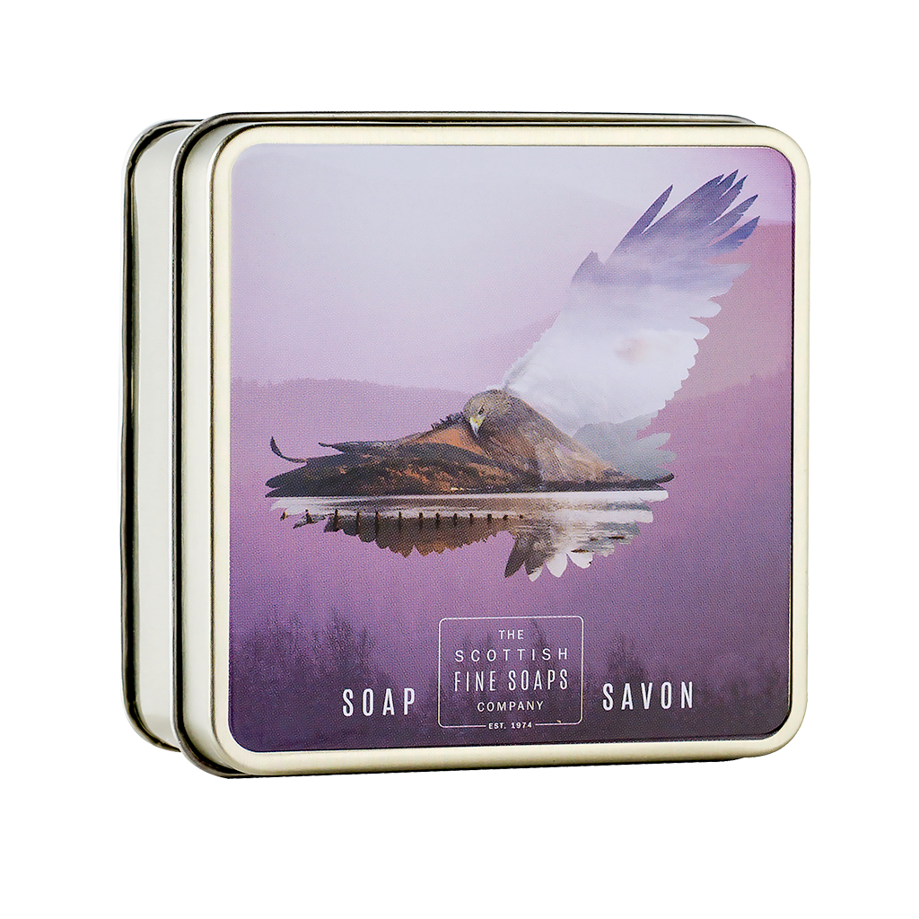 Golden Eagle Soap in a Tin