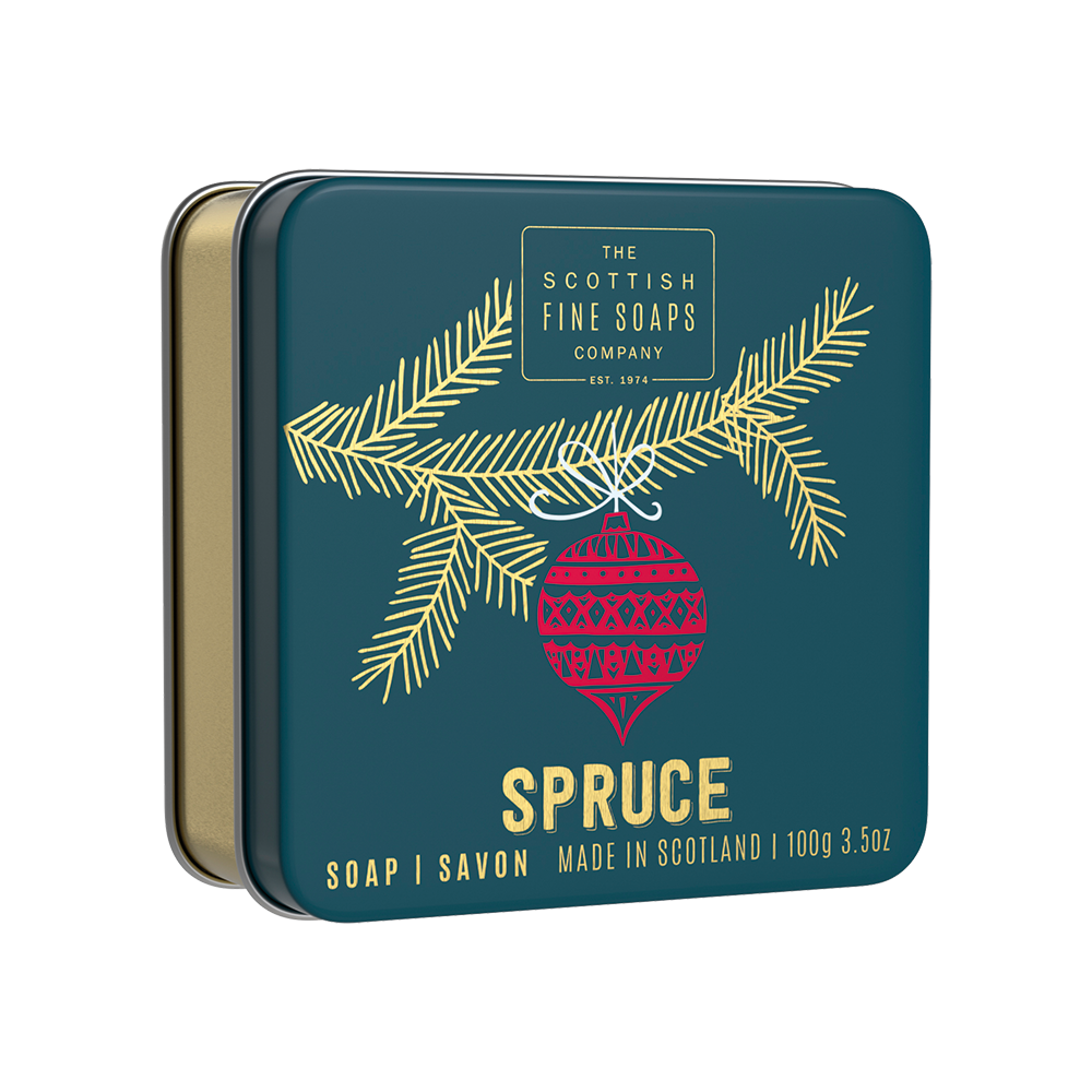 Spruce Soap In A Tin