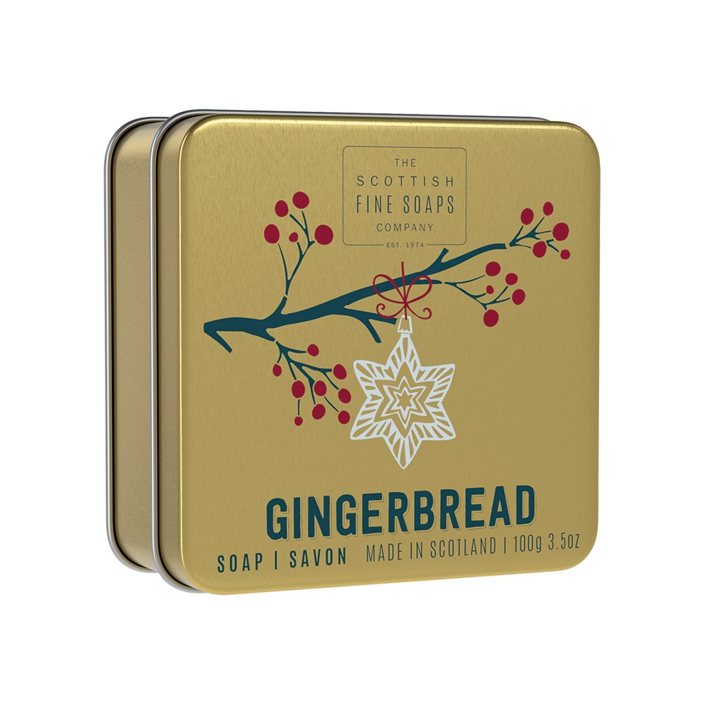 Gingerbread Soap In A Tin