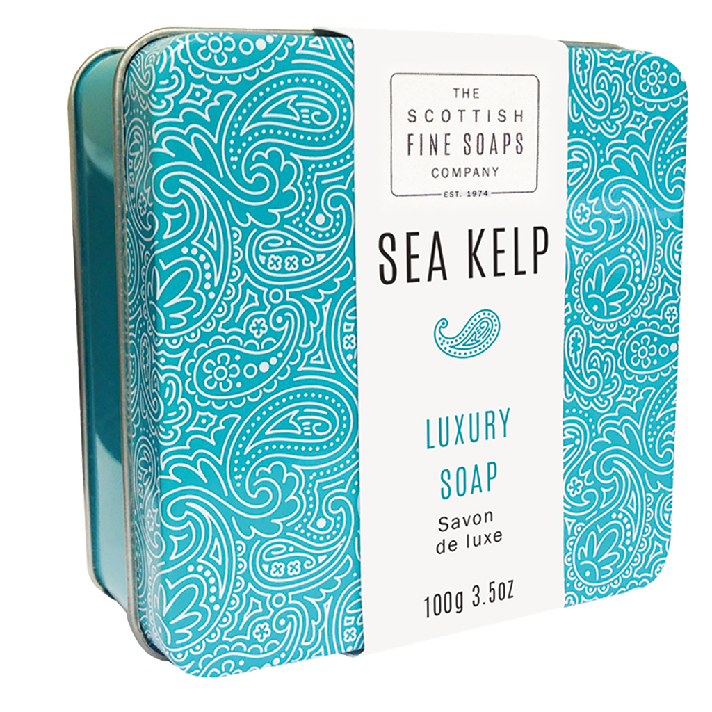Sea Kelp Soap in a Tin