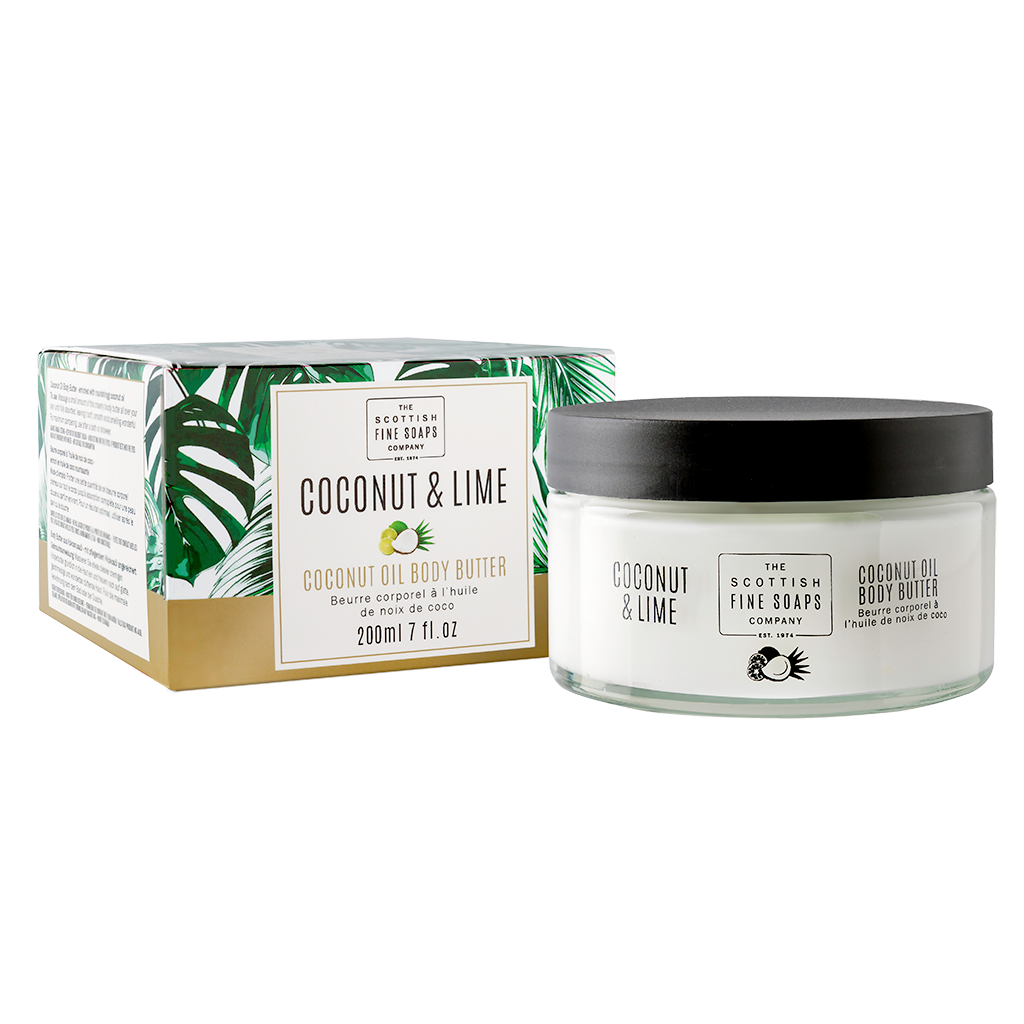 Coconut & Lime Coconut Oil Body Butter