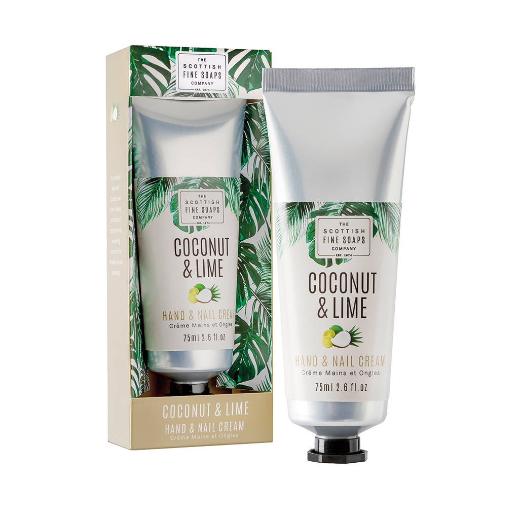 Coconut & Lime Hand & Nail Cream