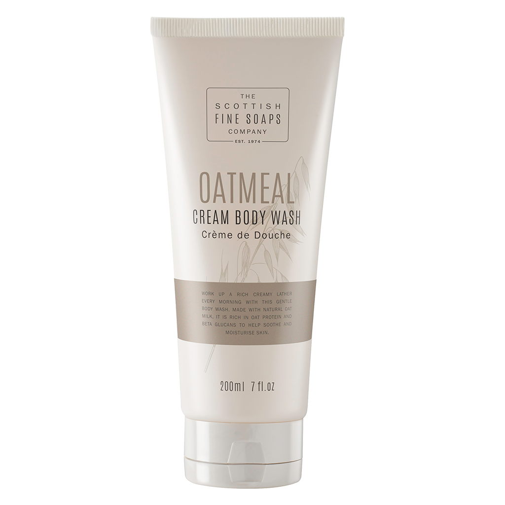 Oatmeal Cream Body Wash