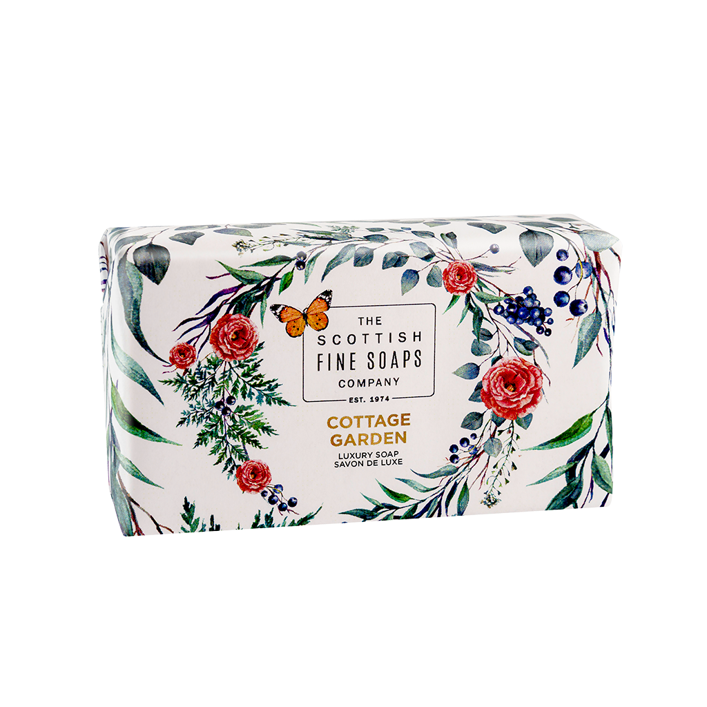 Cottage Garden Luxury Soap Bar