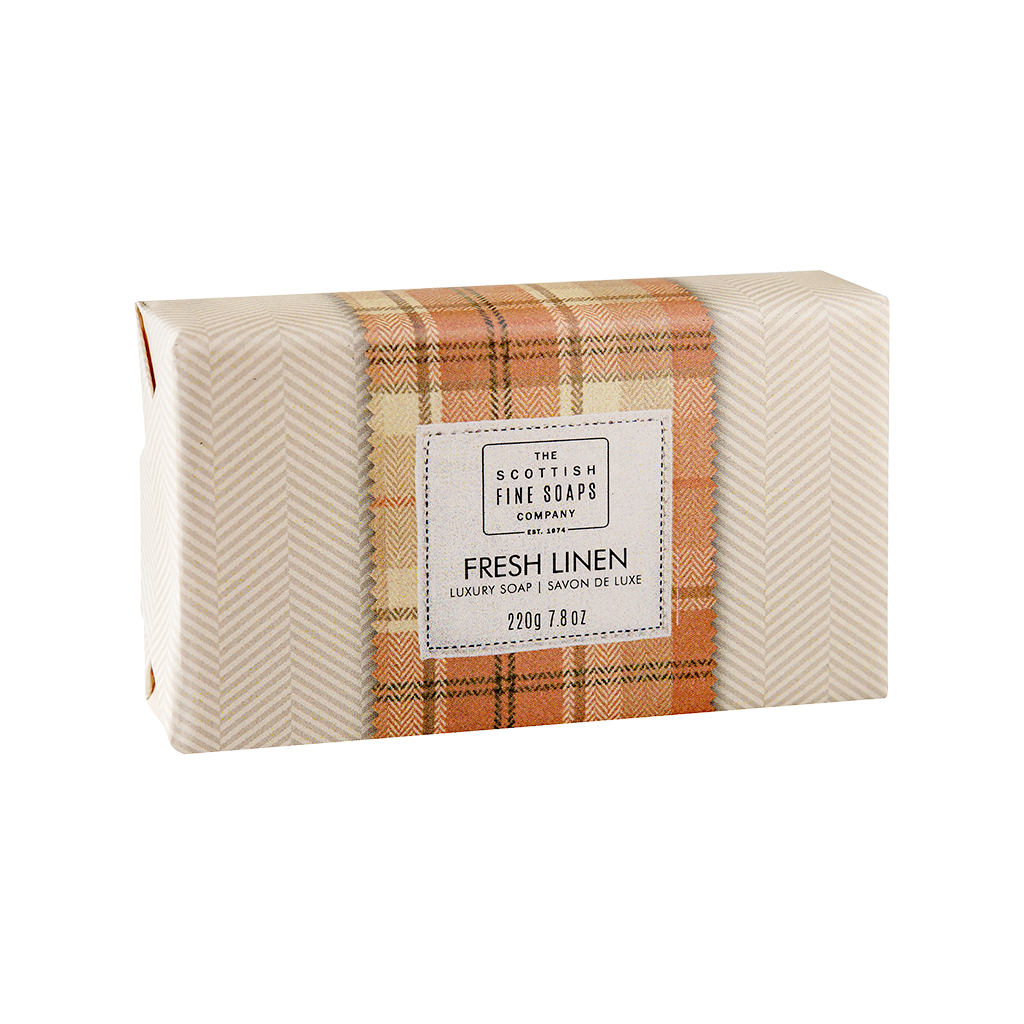 Fresh Linen Luxury Soap Bar