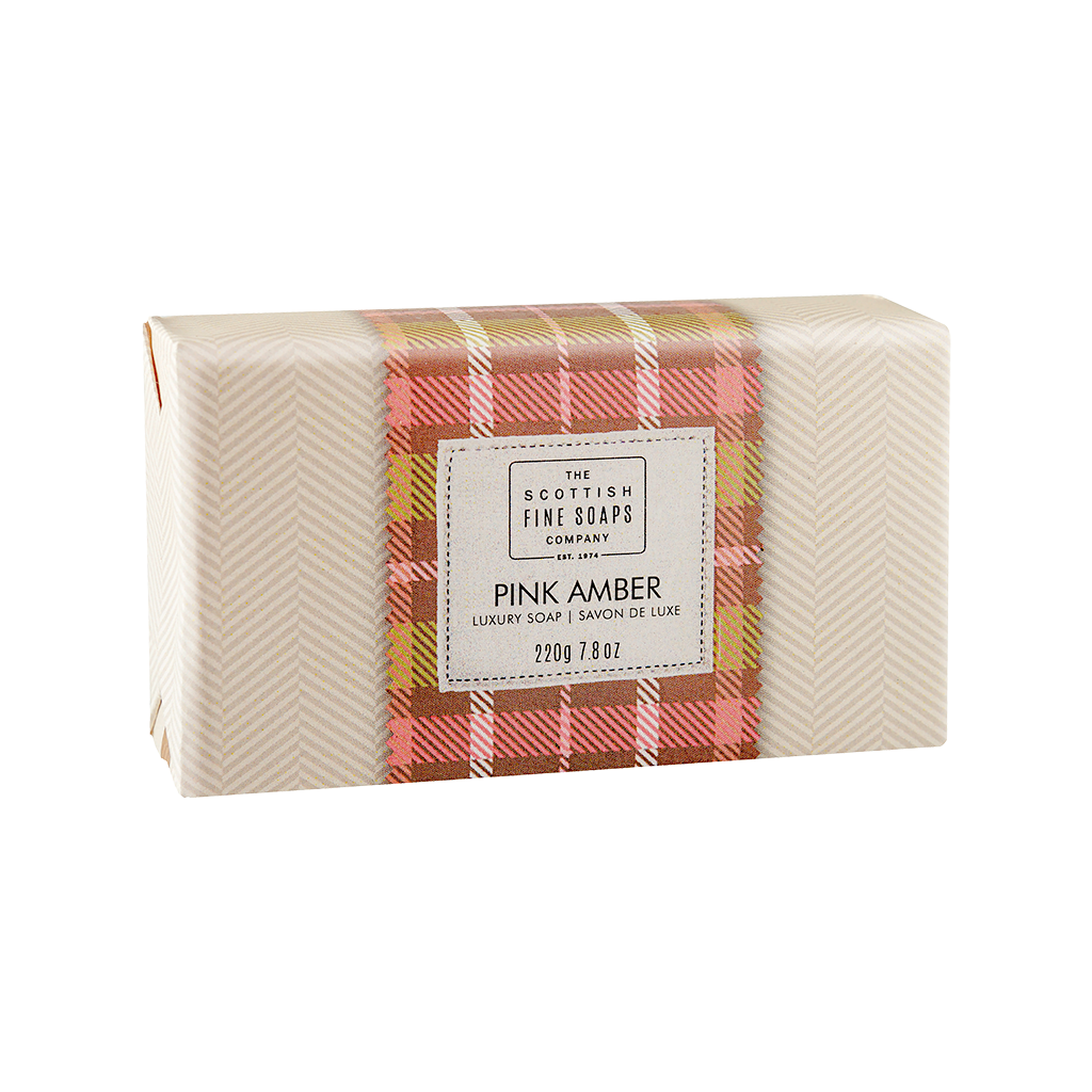 Pink Amber Luxury Soap Bar