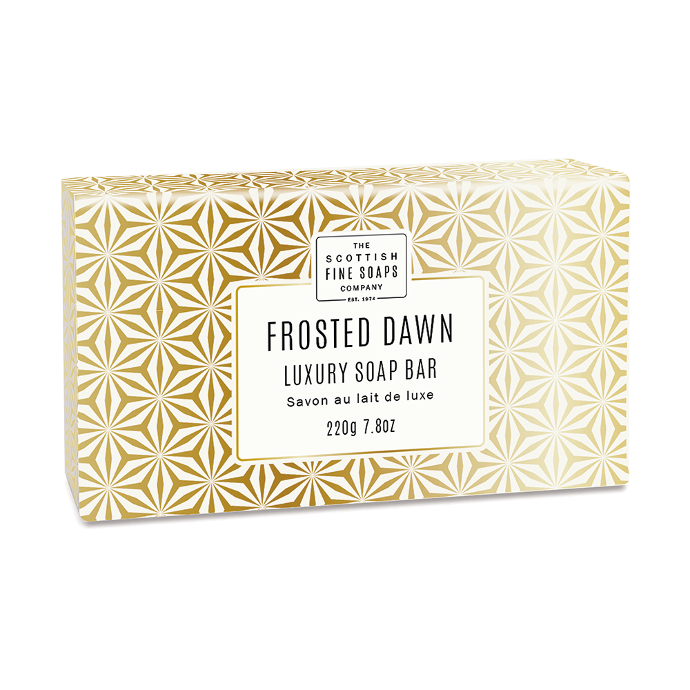Frosted Dawn Luxury Soap Bar