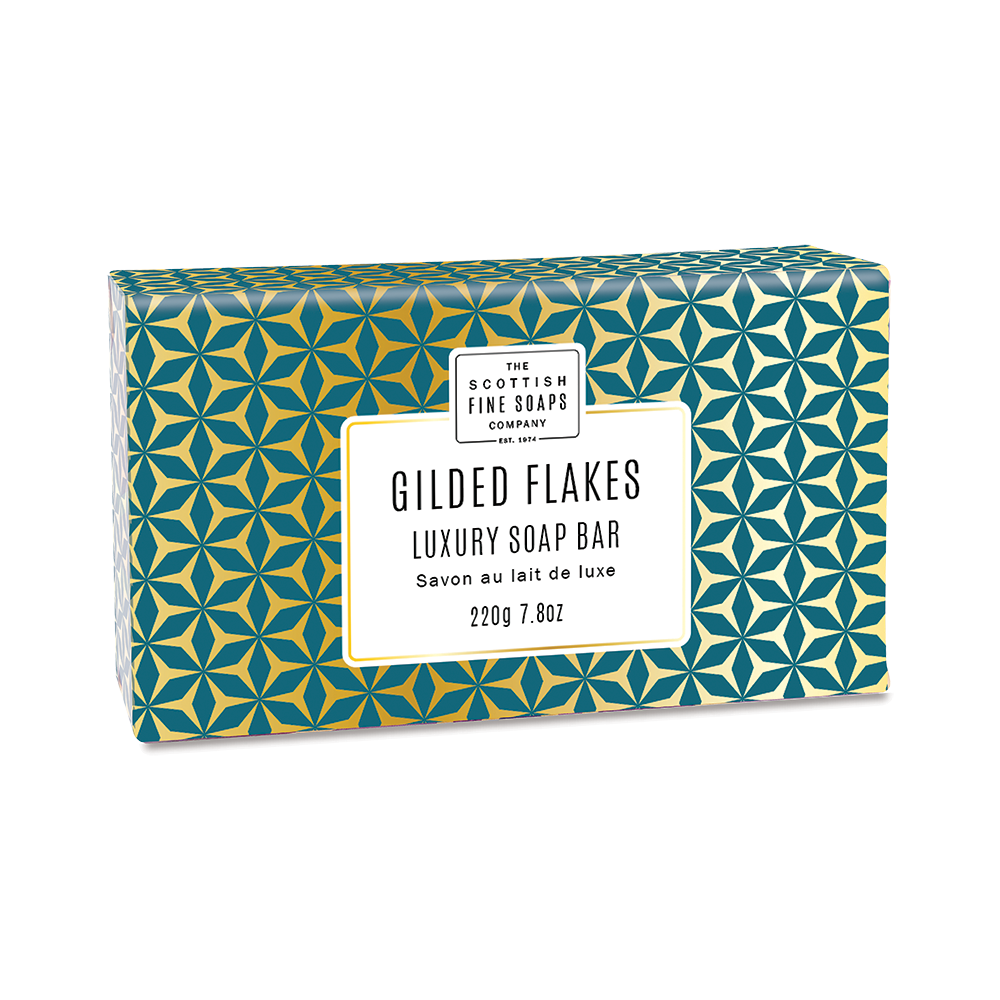 Gilded Flakes Luxury Wrapped Soap