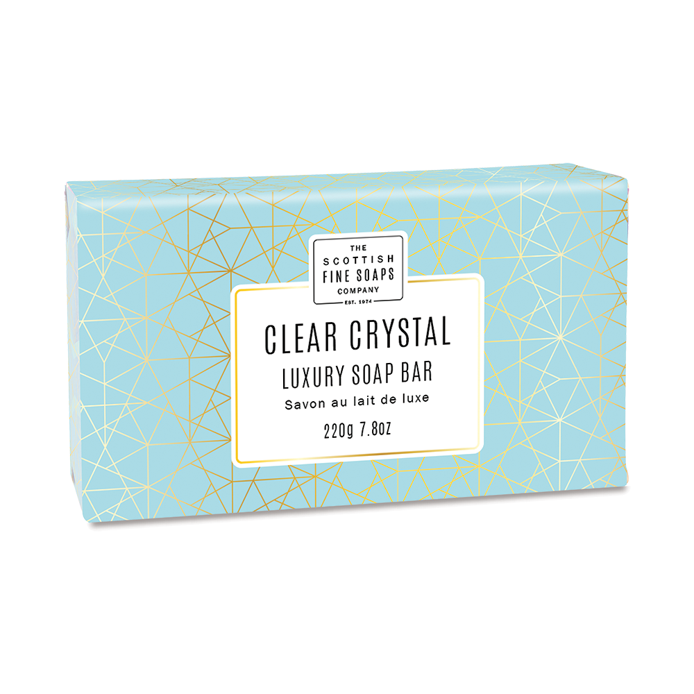 Clear Crystal Luxury Wrapped Soap