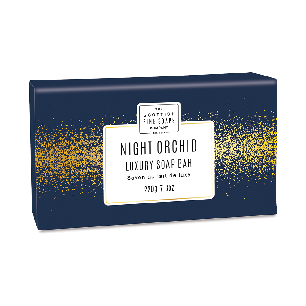 Night Orchid Luxury Wrapped Soap