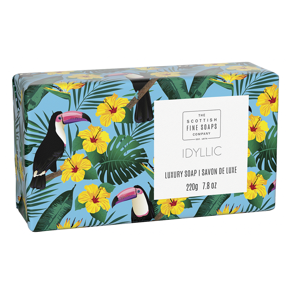 Idyllic Luxury Wrapped Soap
