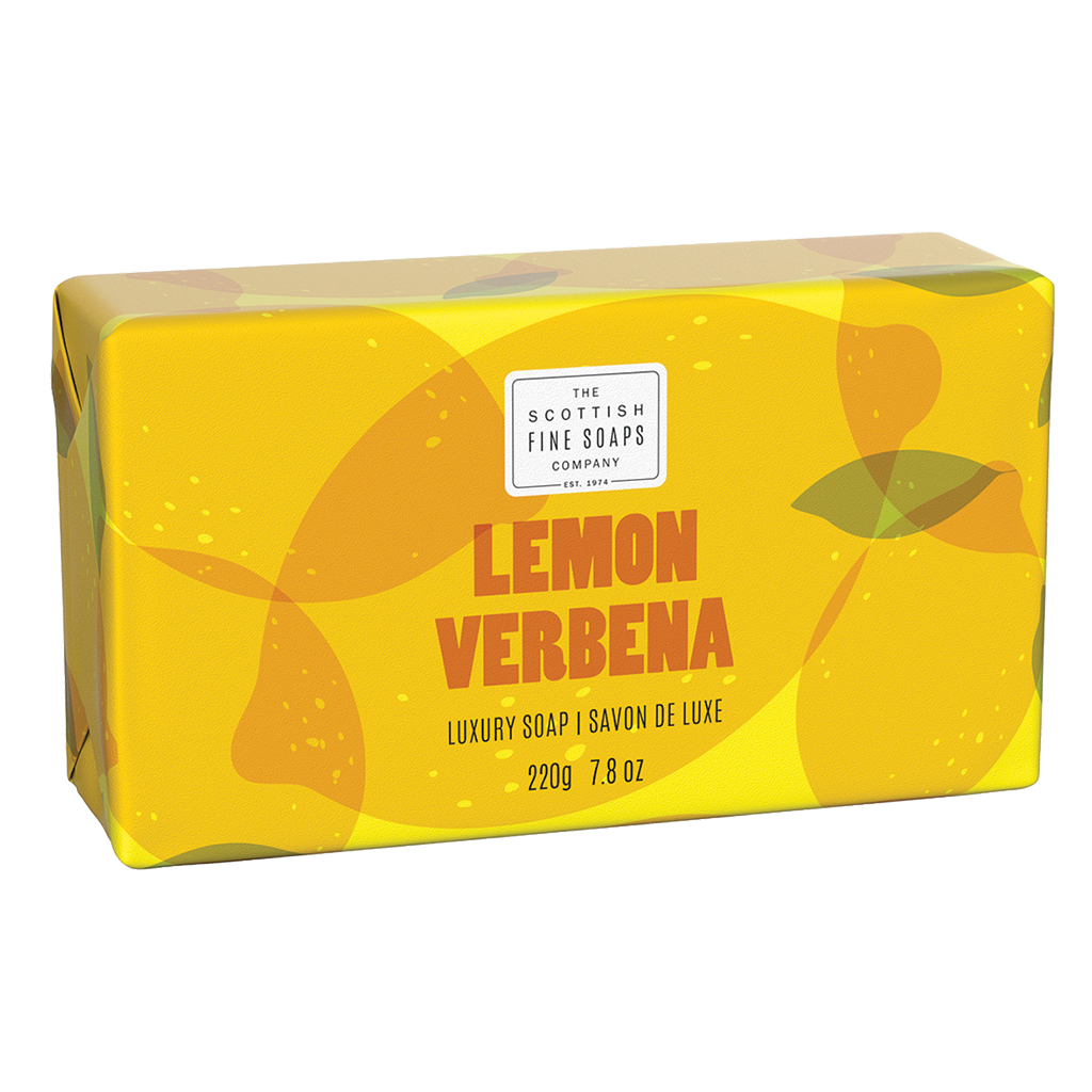 Lemon & Verbena Luxury Wrapped Soap